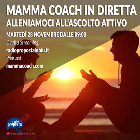 mamma coach in diretta cover 28 11 podcast